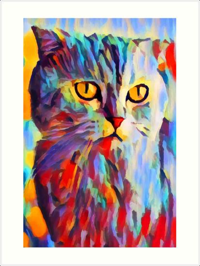 Cat Portrait by ChrisButler