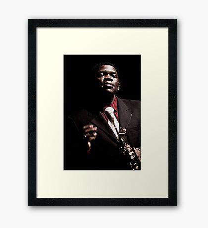 Terrence Ngassa Framed Print