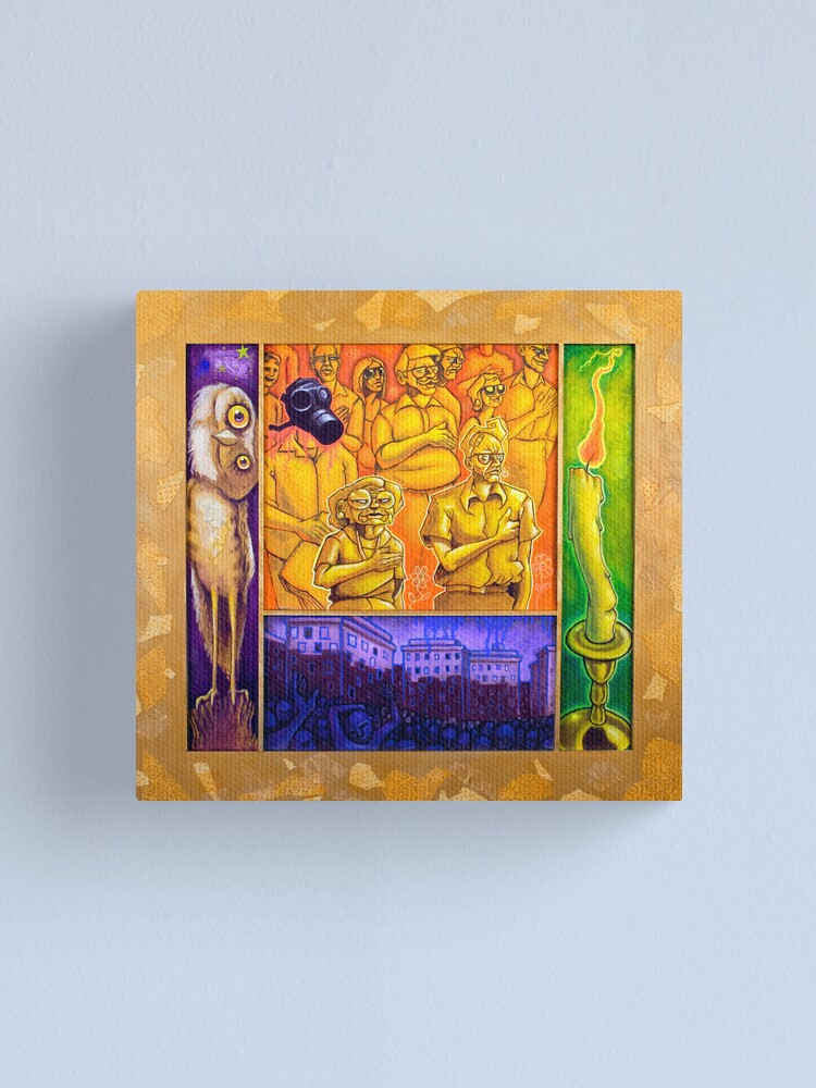 Alternate view of Alter Peace Canvas Print