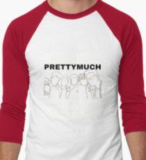 PRETTYMUCH Merch - Boyband Icon Men's Baseball ¾ T-Shirt