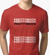 PRETTYMUCH Merch - Boyband Icon Tri-blend T-Shirt