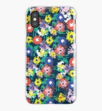 flowerish - painterly floral iPhone Case/Skin