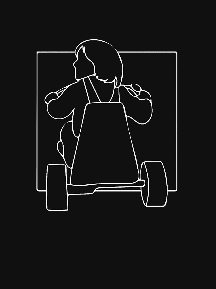 Vintage horror: The Shining (line art) by EstrangedShop