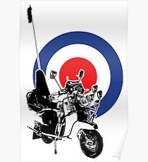 Scooter target - Mods 2 Poster