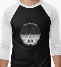Deep Blue Trick Men's Baseball ¾ T-Shirt