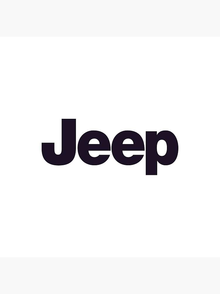 Jeep-Logo-Waren von JoanBowling