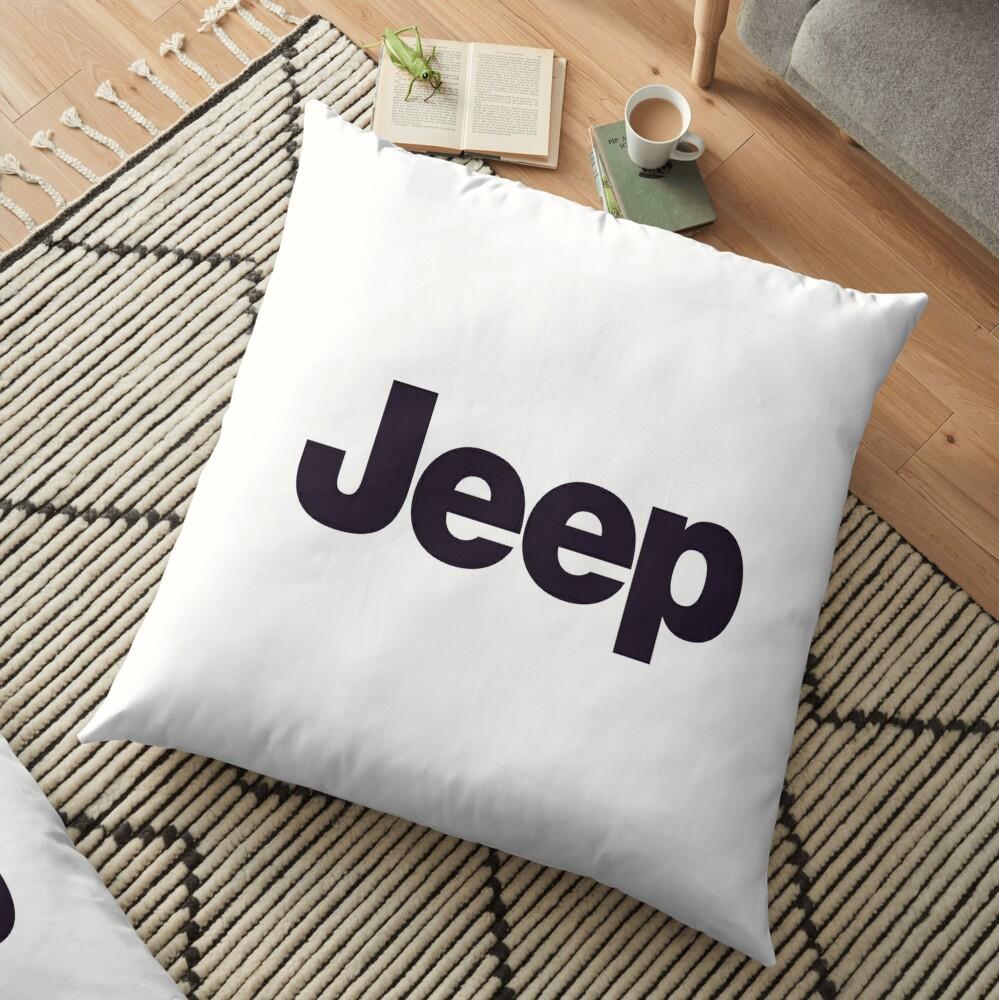 Jeep-Logo-Waren Bodenkissen