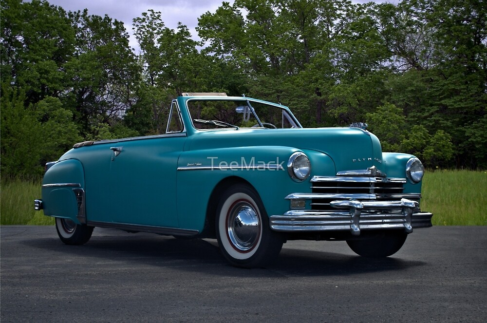 1949 Plymouth Special Deluxe Convertible by TeeMack