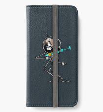Space Aaron Robot iPhone Wallet/Case/Skin
