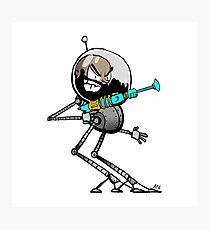 Space Aaron Robot Photographic Print