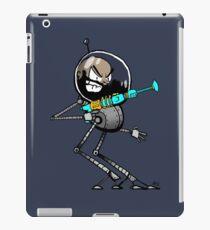 Space Aaron Robot iPad Case/Skin