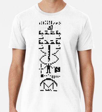 Arecibo Message 001 Premium T-Shirt