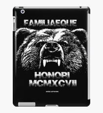 Familiaeque Honori 1997 iPad Case/Skin