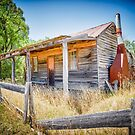 Miners Cottage at Costerfield , Victoria by Pauline Tims