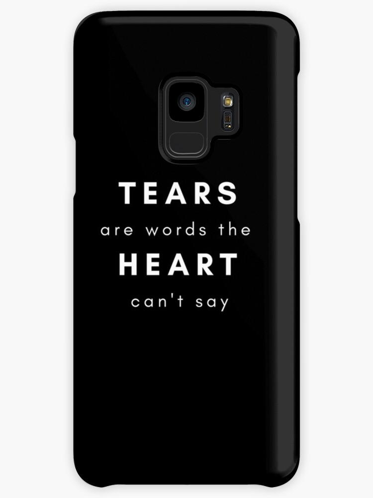 Sad Tumblr Quote Cases Skins For Samsung Galaxy By Nakaila