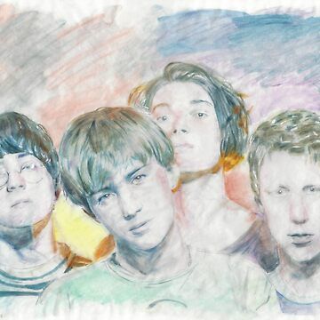 Blur Marker Drawing  by lcvelife