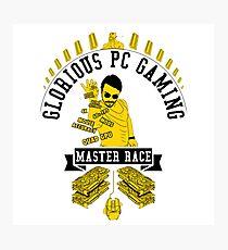 Glorius Master Race Photographic Print