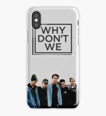 why dont we iPhone Case/Skin