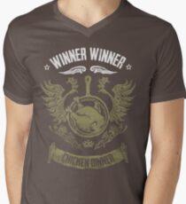 PUBG Winner Winner Chicken Dinner Men's V-Neck T-Shirt