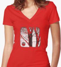 Lunar - TTV Women's Fitted V-Neck T-Shirt