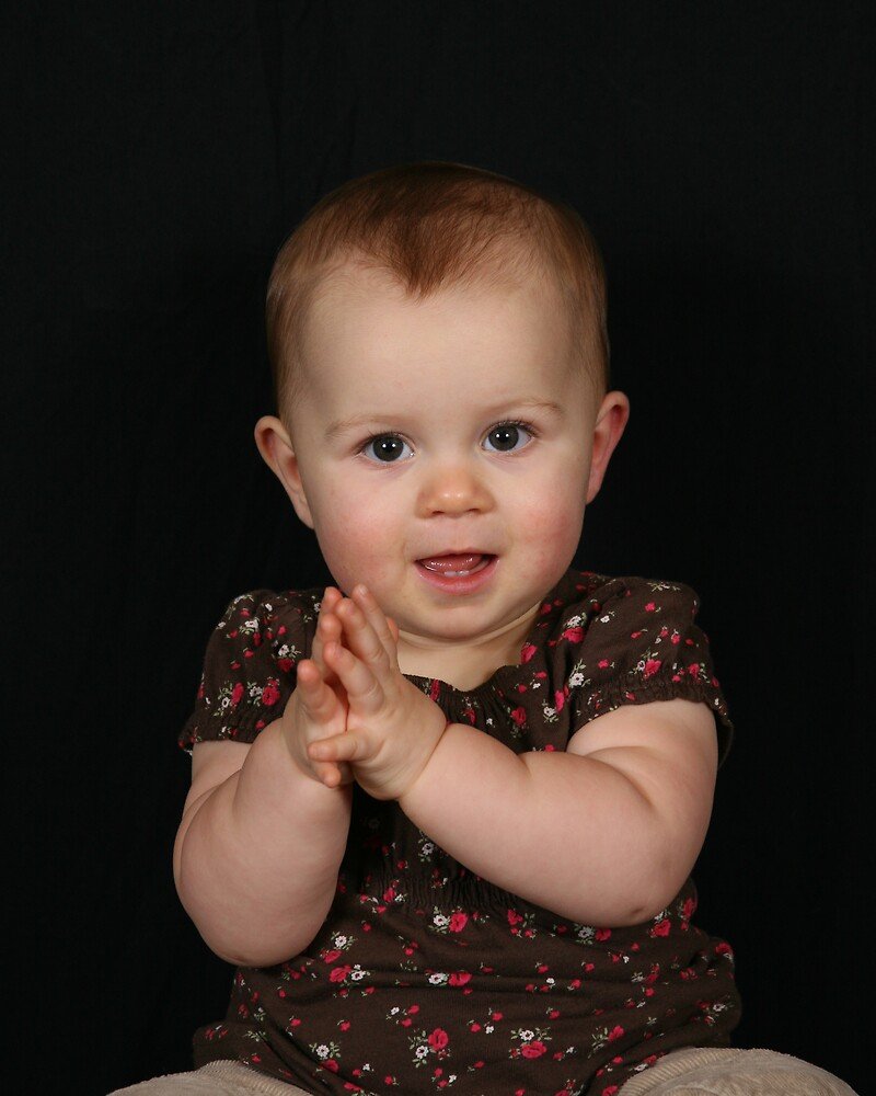Praying Baby by Patty Haisley