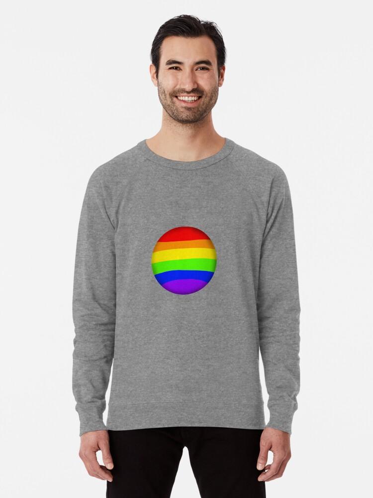 Gay Bubble Lightweight Sweatshirt