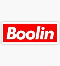 Boolin supreme Sticker