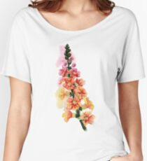 beautiful illustration of Hand Painted flower Wild  Women's Relaxed Fit T-Shirt