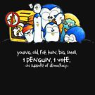 Penguination - 1 Penguin 1 Vote by ordinarypoet