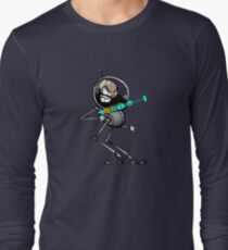 Space Aaron Robot Long Sleeve T-Shirt