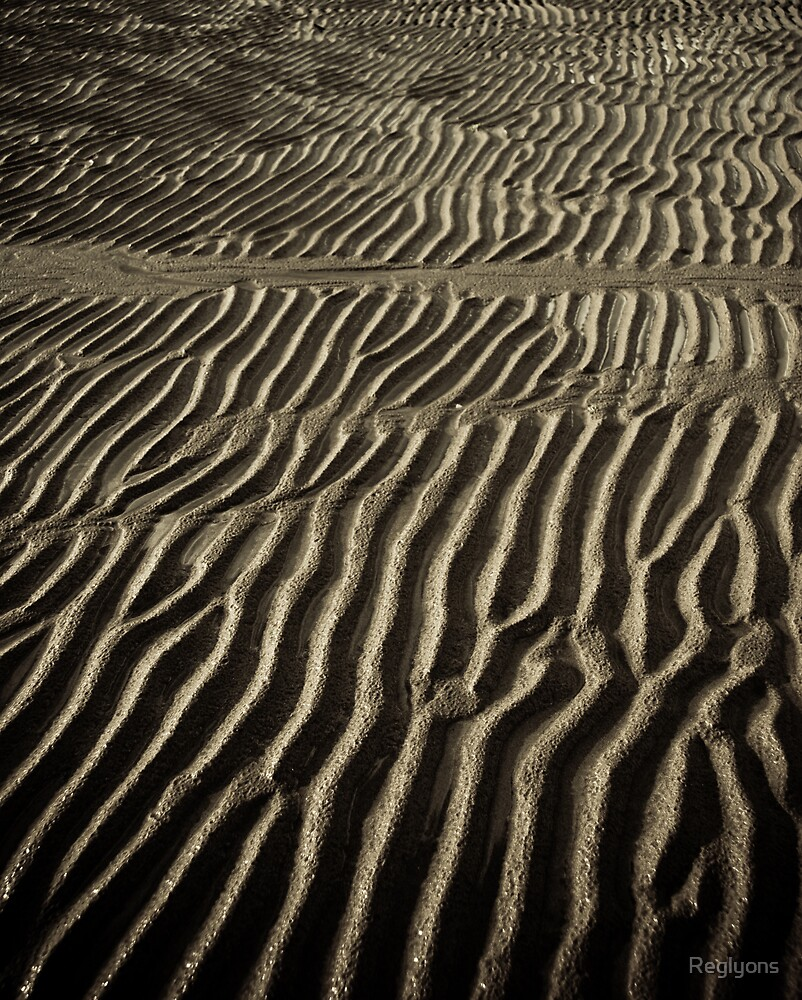 Beach Sand #3 by Reglyons