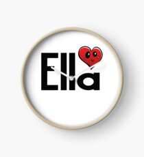 Inspired by The Color of Money / Name Ella Clock