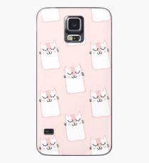 Pink cats Case/Skin for Samsung Galaxy