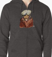 Mountain Man Zipped Hoodie