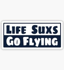 Go Flying Sticker