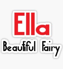 Greek Ella Stickers Redbubble