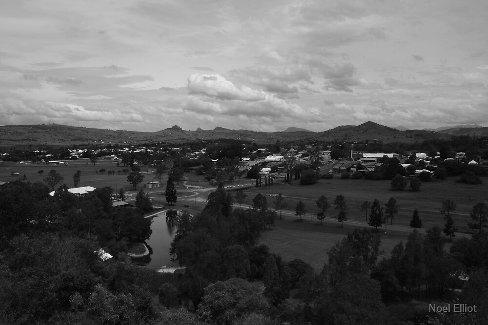 Boonah - From Mt Carmel by Noel Elliot