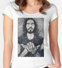 Russell Brand Geometric Art Women's Fitted Scoop T-Shirt