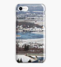 View of Port Williams in Nova Scotia by Bridget Havercroft iPhone Case/Skin