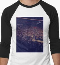 The crowd at the Arena  Men's Baseball ¾ T-Shirt