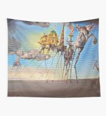 The temptation of st. Anthony Wall Tapestry
