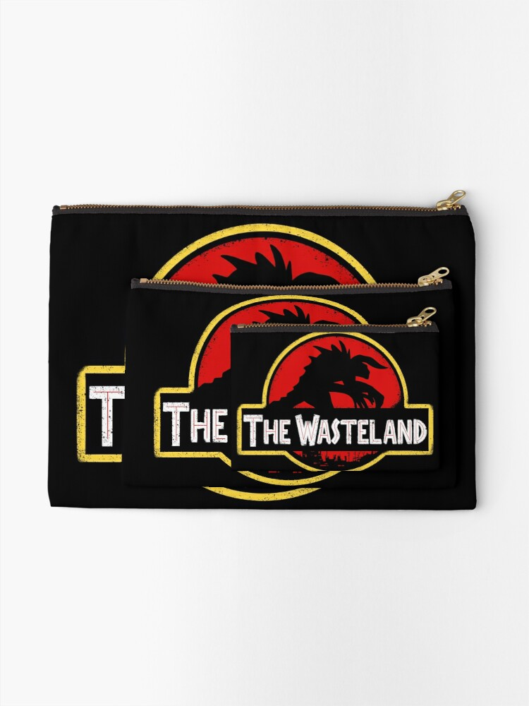 Alternate view of Welcome to the Wasteland  Zipper Pouch