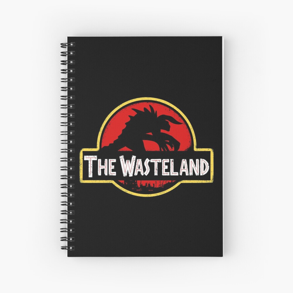 Welcome to the Wasteland  Spiral Notebook