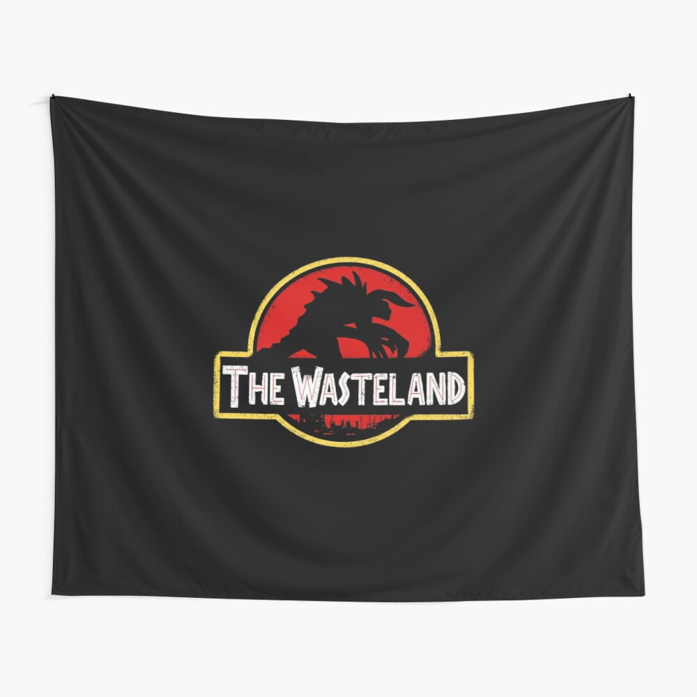 Welcome to the Wasteland  Wall Tapestry