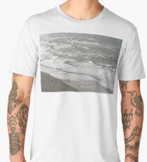 Silver Coast Beach Fun Men's Premium T-Shirt