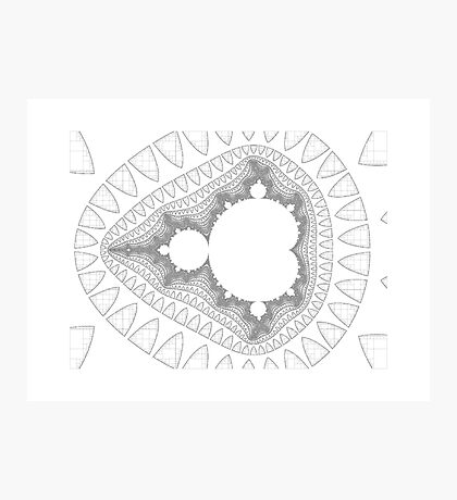 Mandelbrot series IV Photographic Print