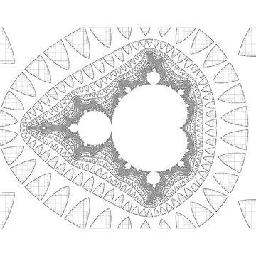 Mandelbrot series IV by rupertrussell
