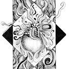 Dreamlike, Ink Drawing by Danielle Scott