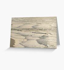 The Fisherman and the Sea Greeting Card