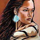 The Native American Woman by Susan McKenzie Bergstrom